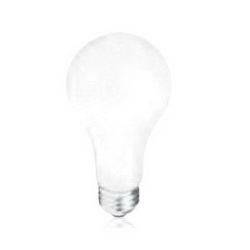 PHIL 200A/99-120-130V 200W 2700K FROSTED A23 INCANDESCENT LAMP, MEDIUM
