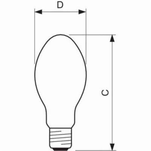 Philips Lighting 356584 Hid Low Pressure Sodium 100 W Mercury