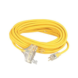 Coleman Cable 12/3 50'SJEOW T-S YL LT/ED
