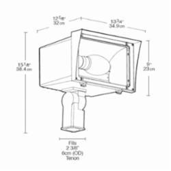 FLOODZILLA 250W MH PSQT HPF PULSE START AND LAMP SLIPFITTER BZ