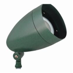 RAB Lighting LFLOOD 13W COOL LED BULLET WITH HOOD AND LENS VERDE GREEN