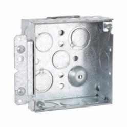 RACO® 189HWP Bracketed Box, Steel, 21.3 cu-in, 13 Knockouts