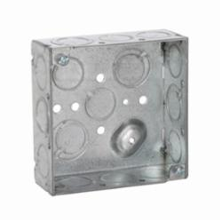 RACO® 189 Square Box, Steel, 21 cu-in, 16 Knockouts