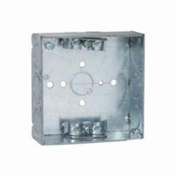 RACO® 211 Square Box, Steel, 21 cu-in, 11 Knockouts