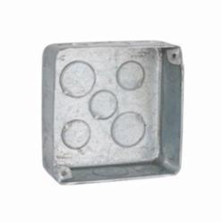RACO® 226 Plenum Box, Steel, 22.5 cu-in, 17 Knockouts