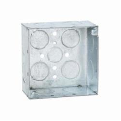 RACO® 231 Square Box, Steel, 30.3 cu-in, 13 Knockouts