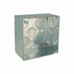 RACO® 232RAC Square Box, Steel, 30.3 cu-in, 17 Knockouts