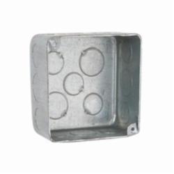 RACO® 239 Plenum Box, Steel, 30.3 cu-in, 17 Knockouts
