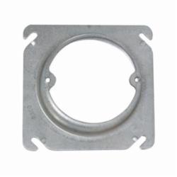 RACO® 758 Square Box Cover, 4 in L x 4 in W x 1-1/4 in D, Steel