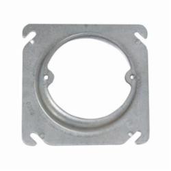 RACO® 767 Square Box Cover, 4 in L x 4 in W x 1/2 in D, Steel