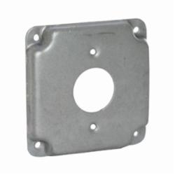 RACO® 801C Exposed Work Cover, 4.19 in L x 4.19 in W x 1/2 in D, Steel