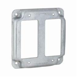RACO® 809C Exposed Work Cover, 4.19 in L x 4.19 in W x 1/2 in D, Steel