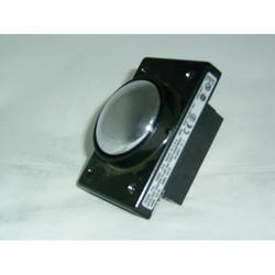 REES 04960-512 Square Heavy Duty Non-Illuminated Pushbutton With Shield, 2-1/4 in, #64 2NO/2NC, Snap Acting Contact