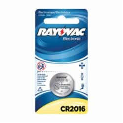 Rayovac® KECR2016-1 Electronic Keyless Entry Battery, Lithium-Manganese Dioxide, 3 VDC, 90 mAh, 2016