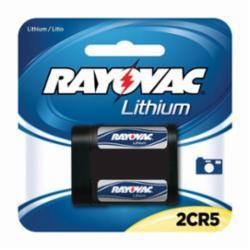 RAYOVAC RL2CR5-1A 6V LITH PH BATT