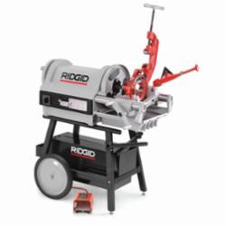 RIDGID® 26092 Threading Machine, 1/2 to 4 in Pipe, 36/12 rpm, 1-1/2 hp, 120 VAC