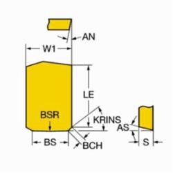 SAND BPKX 19 04 PD R SM30 T-MAX MILLING INSERT 5724515