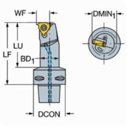 Sandvik Coromant 5728068 T-Max® U-Lock, C5 System, 0.7874 in Dia M
