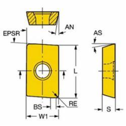 SAND R215.44-090208M-WL 235 U-MAX INSERT 5742721