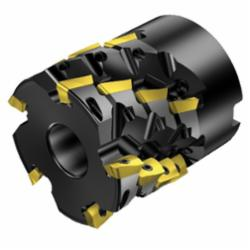 Sandvik Coromant 5746642 CoroMill® 390 Square Shoulder Milling Cutter, R390..Qxx (LE) Insert, 7.874 in Cutting, Right Hand, 1.6929 in Max Depth of Cut