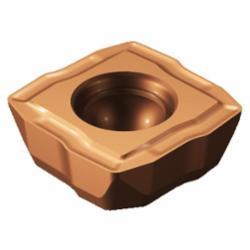 Sandvik Coromant 5765750 CoroDrill® 880, 880-06 04 06H-C-LM 1044, Square, 880..C-LM Insert, 0.4015 in Inscribed Circle, 0.1377 in THK, 880-06 04 06H-C-LM 1044