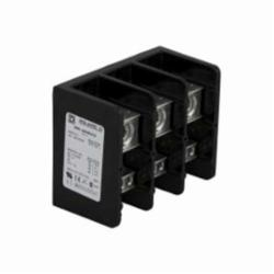 Square D 9080LBA363106 POWER DISTRIBUTION BLOCK 600V 335A,(1)#6 to 400 AWG/kcmil (6)#14 to #2 AWG,335A 270A,600 V AC,9080LB,9080LB33,General Purpose Phenolic,Lugs Tin Plated Aluminum,Power Distribution Block