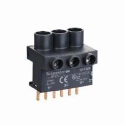 Schneider Electric GV1G09 MAN-STARTER TERMINAL BLOCK 575VAC 63A,63 A,690 V according to IEC 60947-1,GV1G,terminal block,IP20 according to IEC 60529,Linergy,TeSys GV2-TeSys K-TeSys D-TeSys U,Screw clamp terminals,connection accessory,top