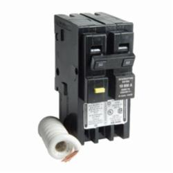 Square D HOM250GFI MINIATURE CIRCUIT BREAKER 120/240V 50A,1-Phase,10kA,120/240VAC,50A,Ground Fault Protecting (Class A),HomeLine,Miniature Circuit Breaker,Provides overload and short circuit protection,Screw #12-4 AWG(Al) - #14-6 AWG(Cu),UL Listed - CSA Certified
