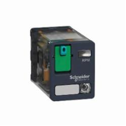 Schneider Electric RPM22BD PLUG-IN RELAY 250V 15A RPM +OPTIONS,(NO) AC 25ms DC 25ms (NC) AC 20ms DC 20ms,-40...55 deg.C,1200 operating cycles/hour,15A,2 C/O,24 VDC,650 Ohms,B300,Flat/Spade (Faston Type),IP 40 conforming to IEC/EN 60529,Plug-In Socket (DIN rail or Flange with adapter),Power,plug-in relay,UL Listed - CSA Certified - CE Marked - RoHS Compliant