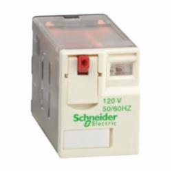 Schneider Electric RXM2AB1F7 PLUG-IN RELAY 250V 12A RXM +OPTIONS,(NO) AC 20ms DC 20ms (NC) AC 20ms DC 20ms,-40...55 deg.C,120 VAC,1200 operating cycles/hour,12A,2 C/O,3630 Ohm at 20 deg.C +/- 15 ,B300,Flat/Spade (Faston Type),IP 40 conforming to IEC/EN 60529,Miniature,plug-in relay,Plug-In Socket (DIN rail or Flange with adapter),UL Listed - CSA Certified - CE Marked - RoHS Compliant