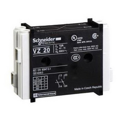 Schneider Electric VZ20 Safety/Disconnect Auxiliary Contacts