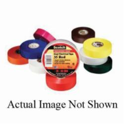 Scotch® 054007-10869 Premium Electrical Tape, 3/4 in W x 66 ft L, 7 mil THK, PVC, Orange