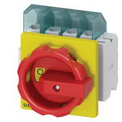 DISC SWITCH 4P R/Y ROTARY 25A 4HOLE DOOR