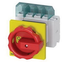 DISC SWITCH 4P R/Y ROTARY 25A 1HOLE DOOR