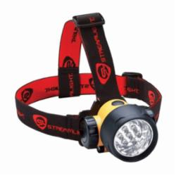 Streamlight® Septor® Light Weight Waterproof Headlamp With Elastic Head Strap and Hard Hats Strap,LED Bulb