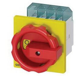 S-A 3LD2003-0TK53 16A 3P DOOR MOUNTED SWITCH W R/Y HANDLE