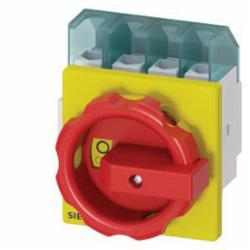 DISC SWITCH 4P R/Y ROTARY 32A 4HOLE DOOR