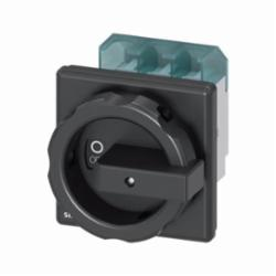 DISC SWTCH 3P BLK ROTARY 63A 4HOLE DOOR