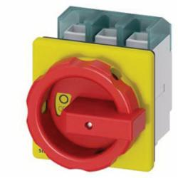 DISC SWTCH 3P R/Y ROTARY 125A 4HOLE DOOR