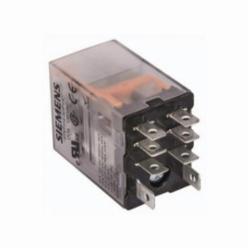 Siemens PLUG-IN RELAY, DPDT, 15A, 120VAC