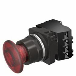 S-A 52BP2DRAB ILL P.B.2POS.PUSH-PULL RED 24V LED