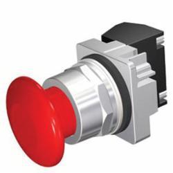 SIEMENS 52PP2W2AP POP PUSH-PULL 2POS MTD RED PLAS