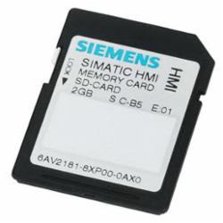 SIA 6AV21818XP000AX0 SIMATIC HMI MEMORY CARD 2 G COMFORT PANL