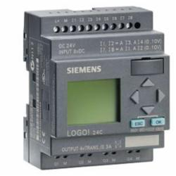 SIEMENS 6ED10521CC010BA6 LOGO 24C 8DI(4AI)/4DO 200 BLOCKS