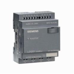 Siemens 6ED1052-2FB00-0BA6 Programmable Relay Display Module, 115/230 VAC/VDC, 3 A Inductive Load/10 A Resistive Load