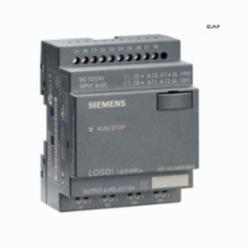 Siemens 6ED1052-2MD00-0BA6 Programmable Relay Display Module, 12/24 VDC, 3 A Inductive Load/10 A Resistive Load