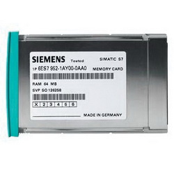 SIEMENS 6ES79521KM000AA0 MEMORY CARD S7400 LONG VERSION 5V 4MB