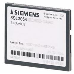 Siemens SINAMICS S120 COMPACTFLASH CARD,V2.6,WOP