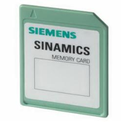 SIEMENS 6SL30544AG002AA0 SD-CARD 512MB,SINAMICS,EMPTY