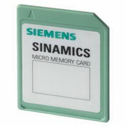 SIEMENS 6SL32540AM000AA0 Memory card for parameterization